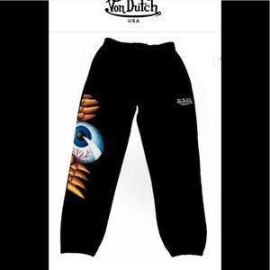 Von Dutch Pants - Von Dutch sweatpants size M new with tags $100